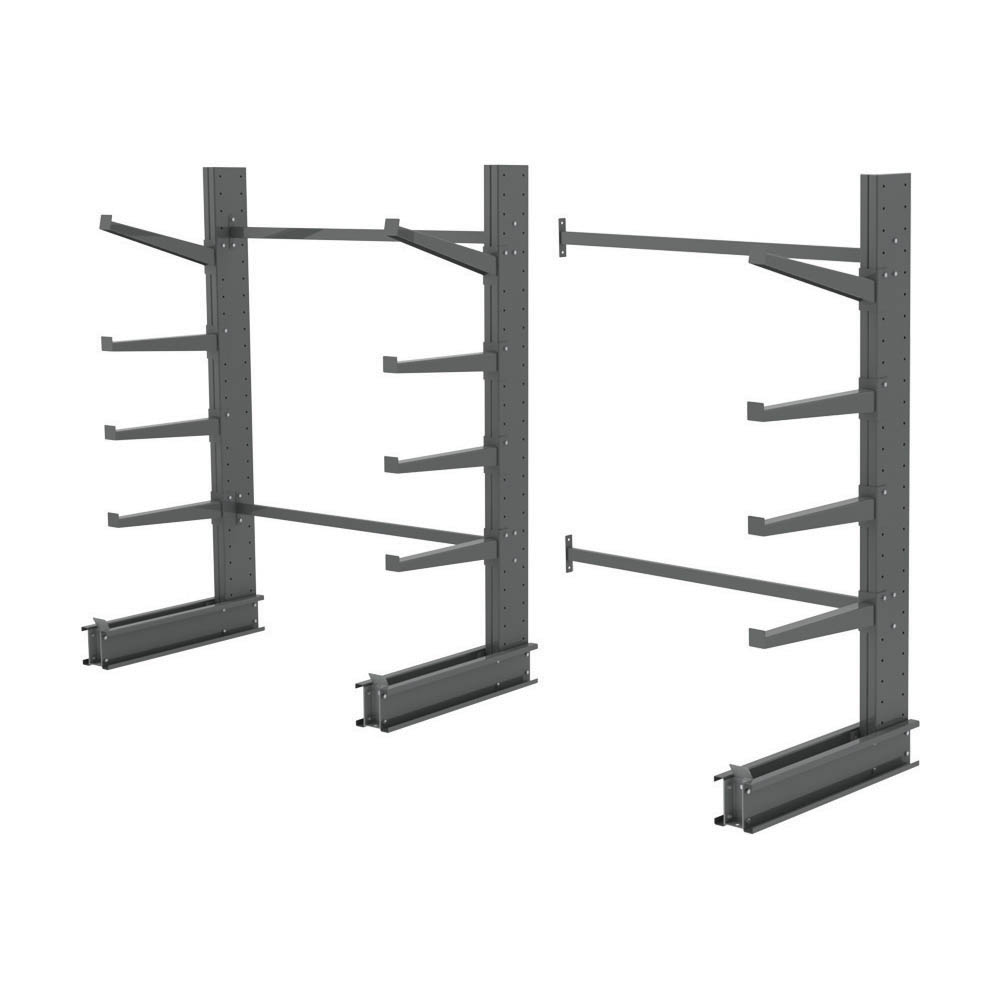 4 Arm Single Sided Cantilever Rack