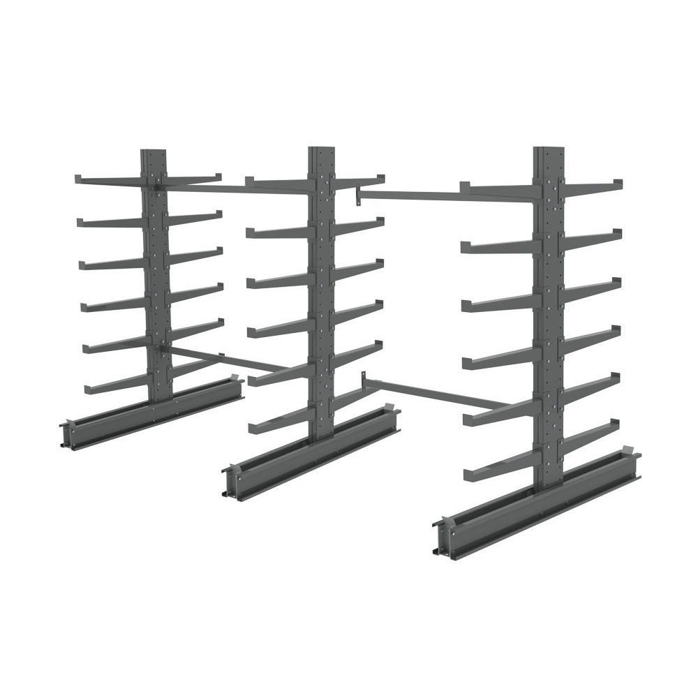 12 Arm Double Sided Cantilever Rack