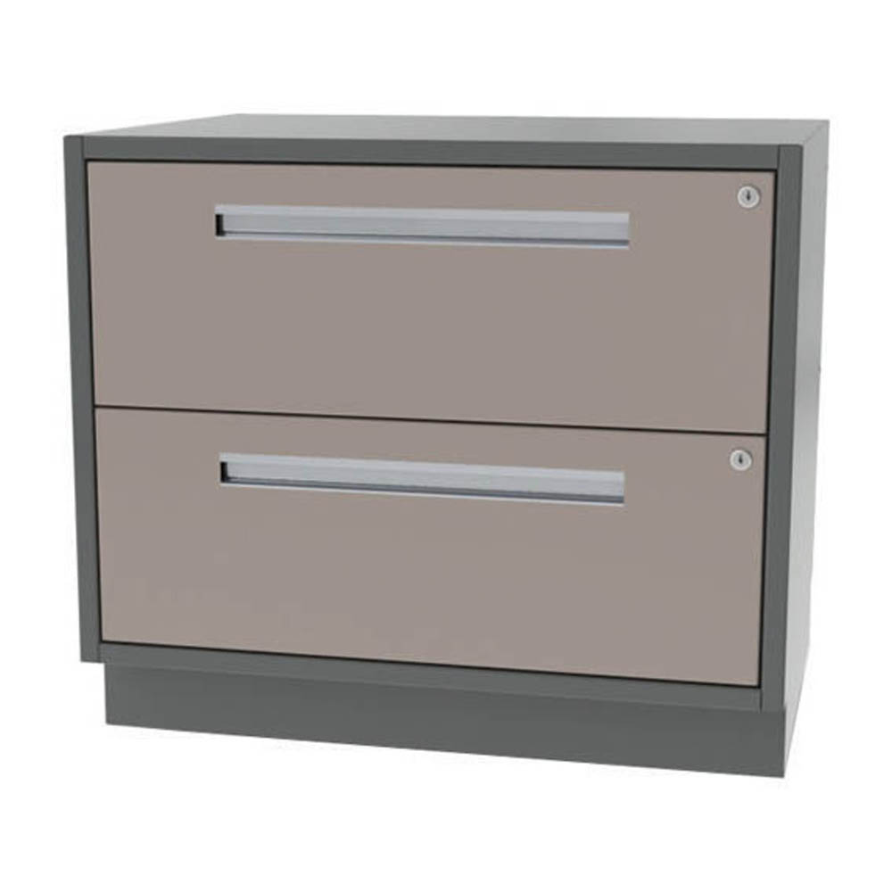 Two Drawer Wide Width Cabinet