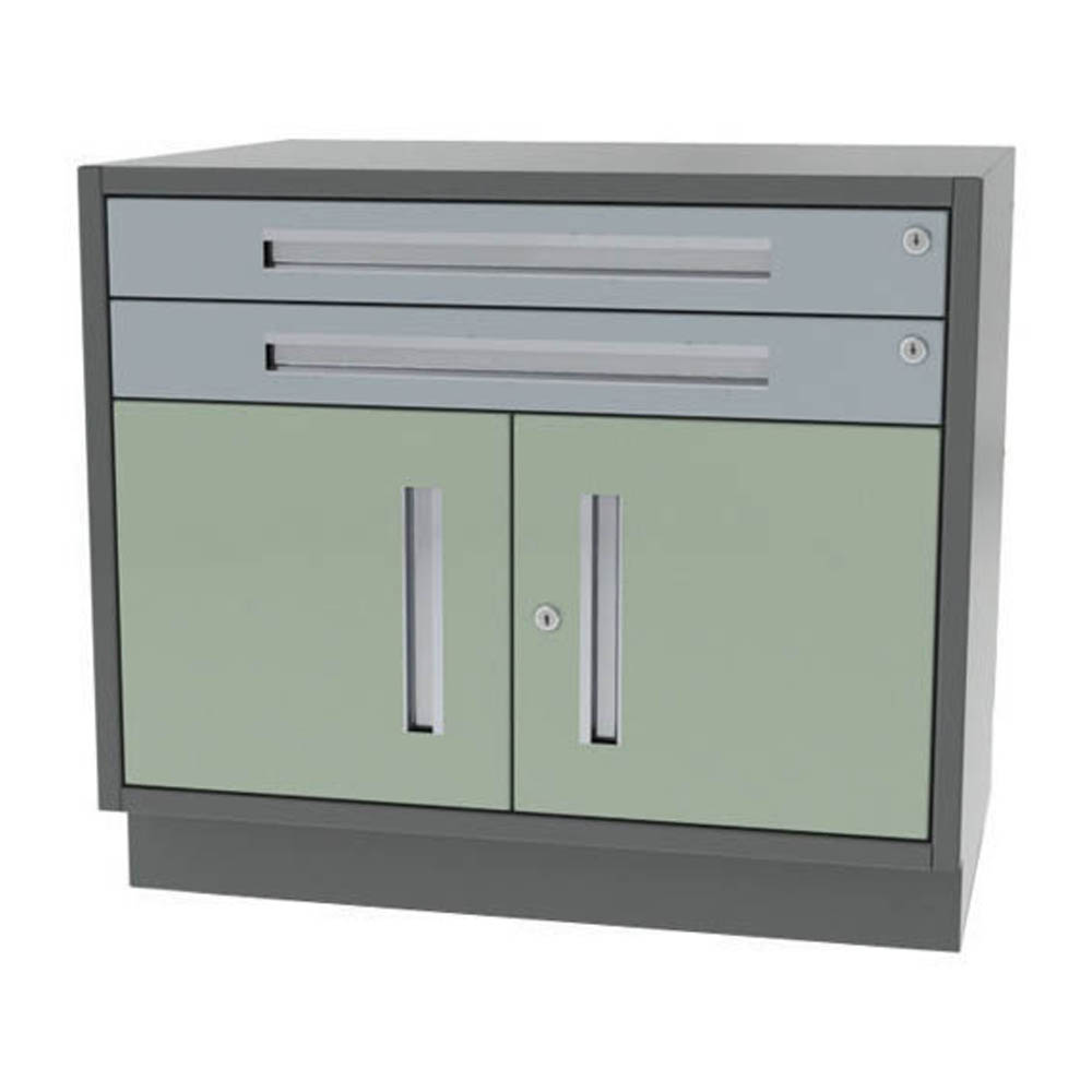 Two Drawer Two Door Wide Width Base Cabinet