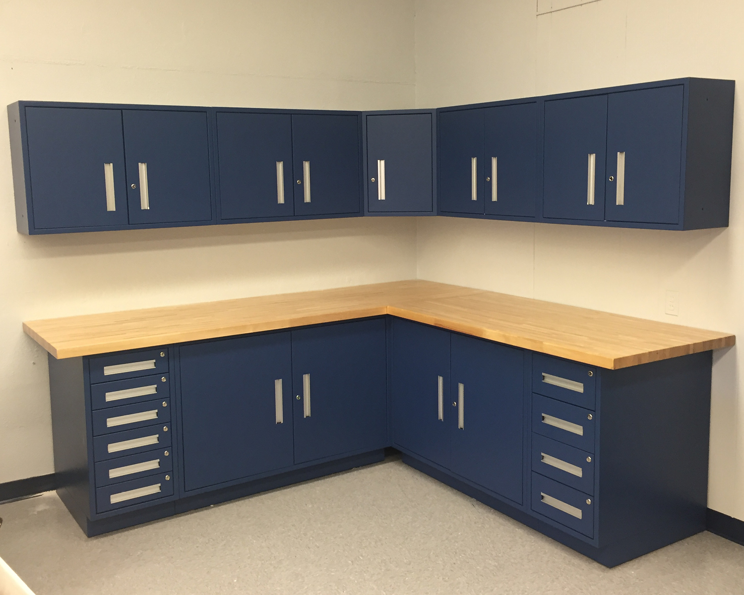 Five Drawer Variable Wide Width Cabinet