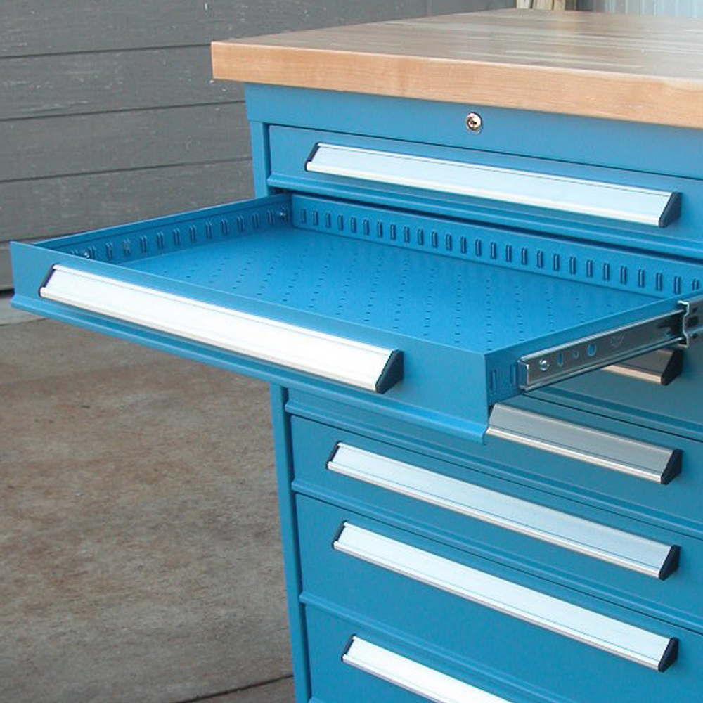 Pleasant Industrial Workbench 8 Drawer Cabinet Gmtry Best Dining Table And Chair Ideas Images Gmtryco